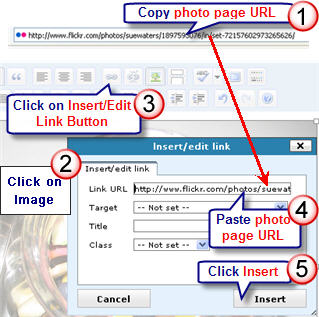 Image of how to link an image to an URL