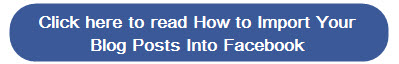 How to import your blog posts into Facebook
