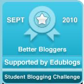 Better Blogger participant