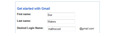 Set up a class gmail account