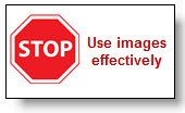 Use images effectively
