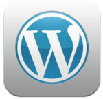 WordPress blogging app