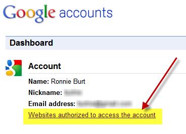 http://www.google.com/dashboard/