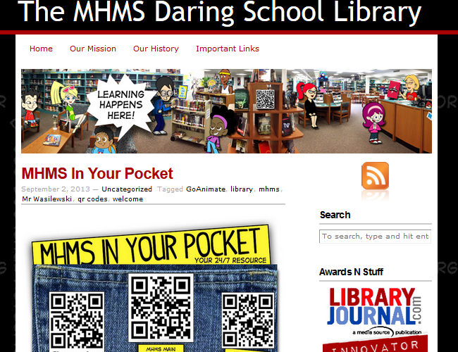 The MHMS Daring School Library Blog