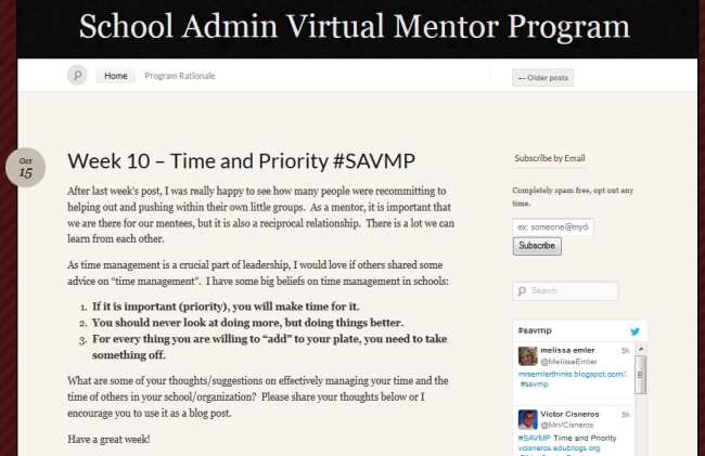SAVMP blog