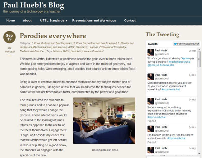 Paul Heubl's blog