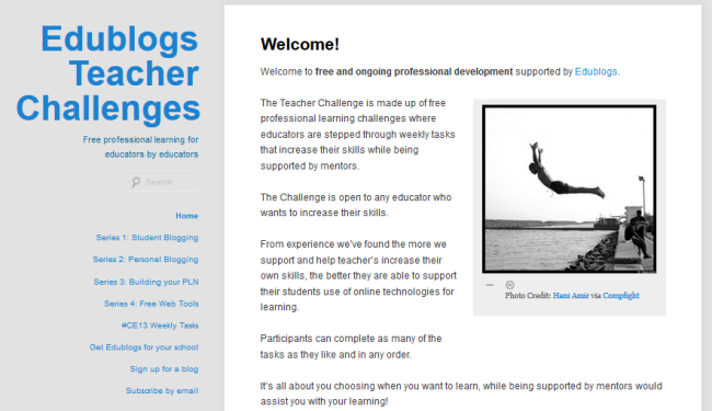 Teacher Challenge blog
