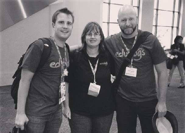 The Edublogs team at #iste13
